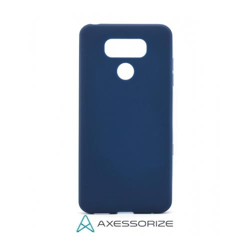COMBO Axessorize LG G6 Case Cobalt Blue + Tempered Glass