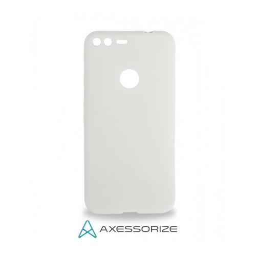 COMBO Axessorize Google Pixel Case Clear + Tempered Glass