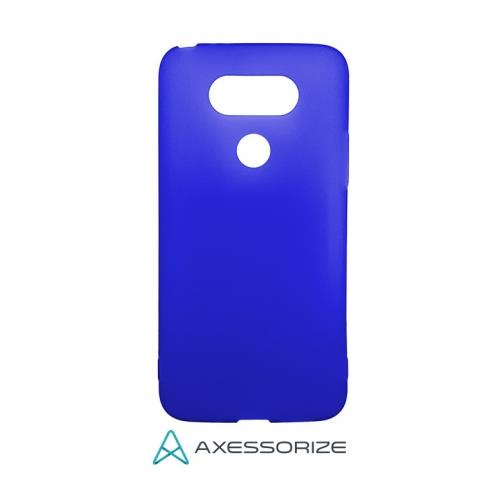 COMBO Axessorize LG G5 Case Cobalt Blue + Tempered Glass
