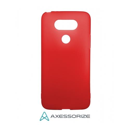 COMBO Axessorize LG G5 Case Candy Red + Tempered Glass