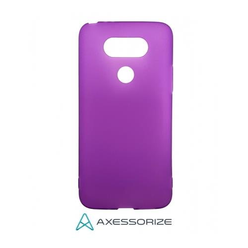 COMBO Axessorize LG G5 Case Purple + Tempered Glass