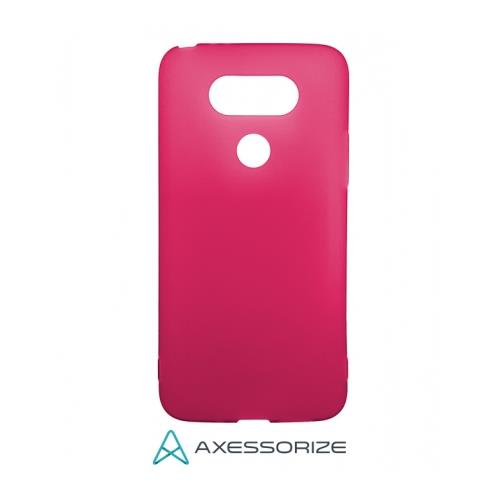 COMBO Axessorize LG G5 Case Pink + Tempered Glass