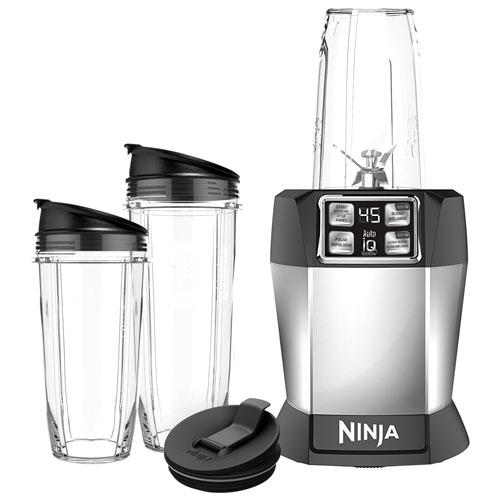 Ninja Nutri Ninja Auto iQ Single Serve 1000 Watt Stand Blender with Blending Cups