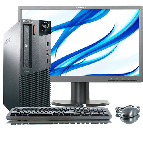 Lenovo M91 Desktop PC, i5 2400 3.1G CPU, 4GB RAM, 320GB HDD, DVDRW, Windows 10, Refurbished