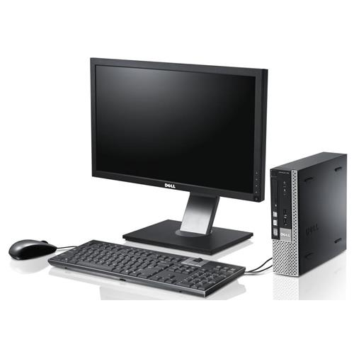 "Dell 990 Complete PC, i3 3.3G, 4GB, 500GB, Incl. 19"" P1914 Monitor, Windows 10, Refurbished"
