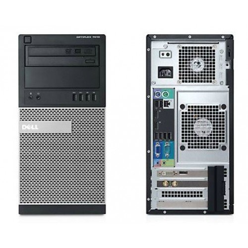 DELL OPTIPLEX 990 MT I5 2500 3.3 GHZ 16.0 GB 250GB DVD/RW WIN10 PRO 3 YR Warranty- Refurbished