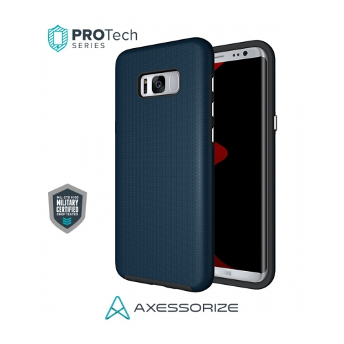 Axessorize Fitted Hard Shell Case for Samsung Galaxy S8 - Cobalt Blue
