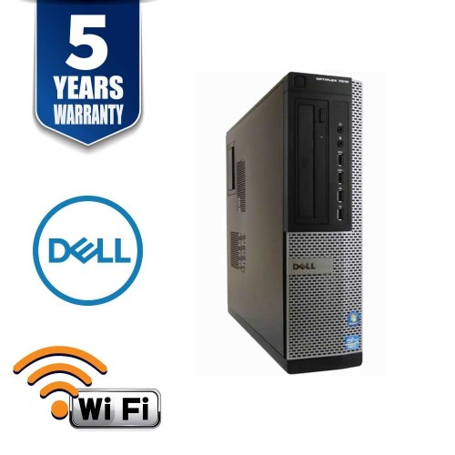 DELL OPTIPLEX 7010 DT I7 3770 3.4 GHz DDR3 4.0 GB 250GB DVD WIN 10 PRO 5YR WTY USB WIFI - Refurbished