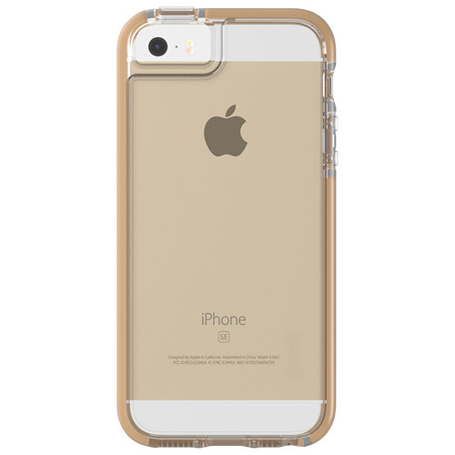 iphone 5s gold case. gear4 icebox piccadilly fitted hard shell case for iphone 5/5s/se - gold iphone 5s t