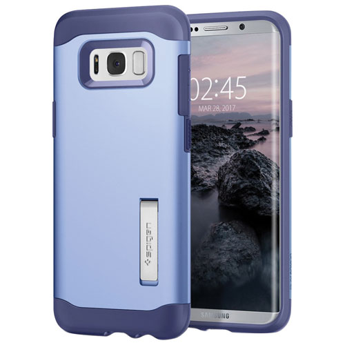 Spigen Slim Armor Fitted Hard Shell Case for Samsung Galaxy S8 - Violet