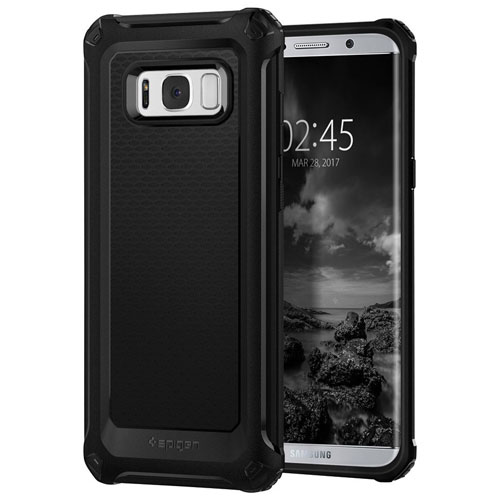 Spigen Armor Extra Fitted Hard Shell Case for Samsung Galaxy S8 Plus - Black