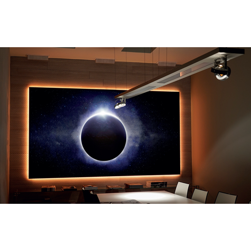 "Elunevision Aurora 4K HDR 110"" NanoEdge Fixed-Frame 1.3-16:9 Projector Screen"