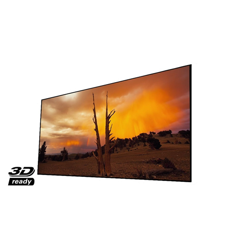 "Elunevision Reference Studio 4K 100"" NanoEdge Fixed-Frame 1.0-16:9 Projector Screen"