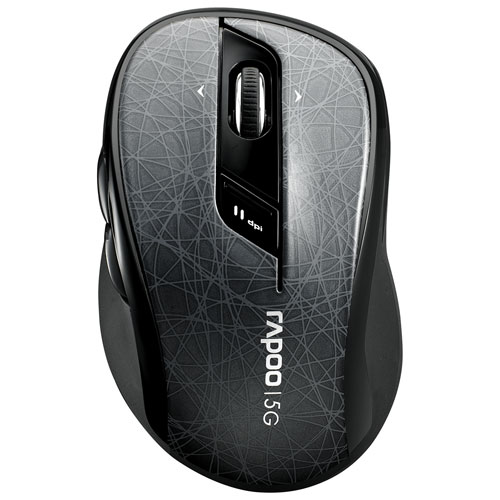Rapoo 7100P 5G Wireless Optical Mouse - Grey