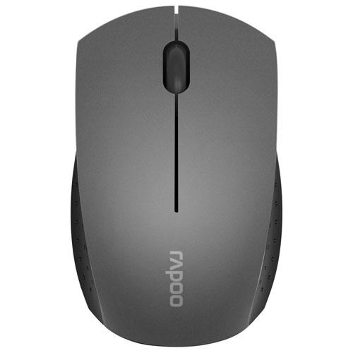 Rapoo 3360 Wireless Optical Mouse - Grey