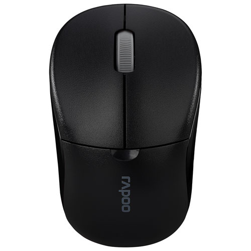 Rapoo 1090P Wireless Optical Mouse - Black