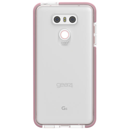 Gear4 Piccadilly Fitted Hard Shell Case for LG G6 - Rose Gold