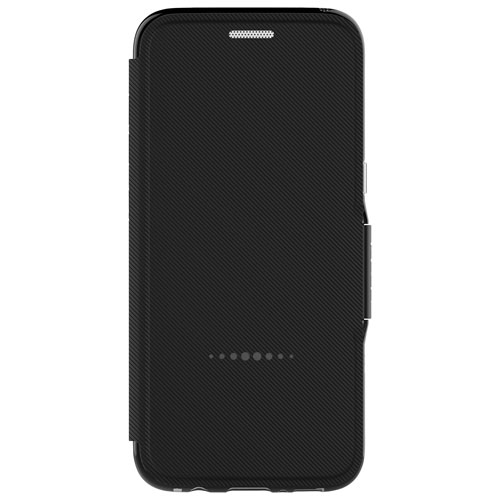 Étui rigide ajusté Oxford de Gear4 pour Galaxy S8 - Noir
