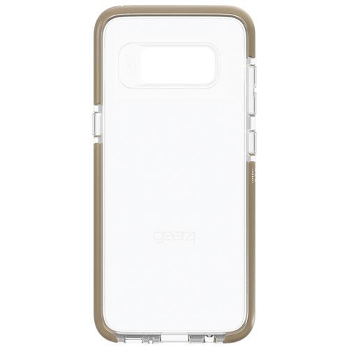 Étui rigide ajusté Piccadilly de Gear4 pour Galaxy S8 - Doré