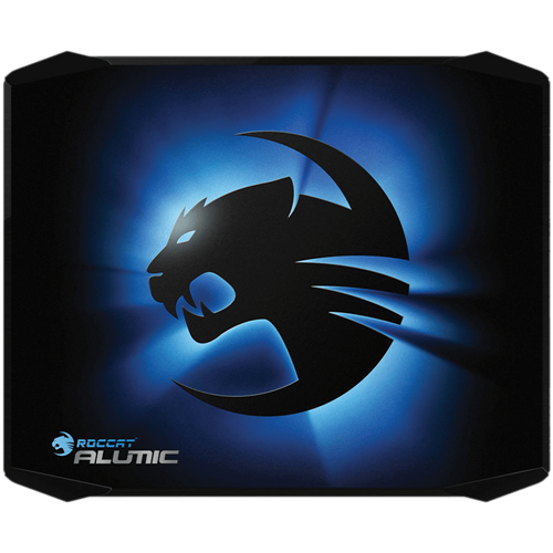 Roccat Alumic ROC-13-400 Anodized Aluminum Core Double Sided Gaming Mousepad W/ Gel Wrist Rest