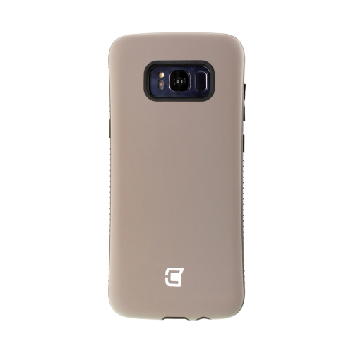 Dual Layer Hybrid Military Graded Shock Express Case with Raised Lip - Samsung Galaxy S8 Plus - Gun Metal
