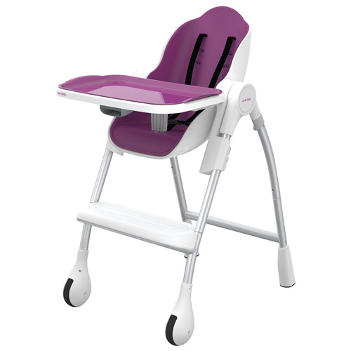 Oribel Cocoon Reclining High Chair with Food u0026 Cup Holder - Plum  High Chairs - Best Buy Canada  sc 1 st  Best Buy Canada & Oribel Cocoon Reclining High Chair with Food u0026 Cup Holder - Plum ... islam-shia.org