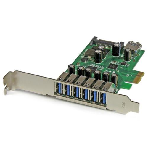 StarTech 7-Port PCI Express USB 3.0 Card (PEXUSB3S7)