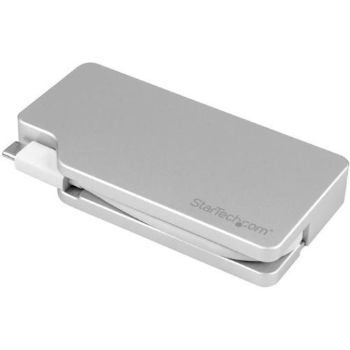 StarTech 4-in-1Travel A/V Converter USB-C to VGA, DVI, HDMI or mini DisplayPort (CDPVGDVHDMDP)
