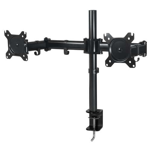 Arctic Cooling Z2 Basic - Dual LCD Monitor Desk Mount (Black) with Cable Management