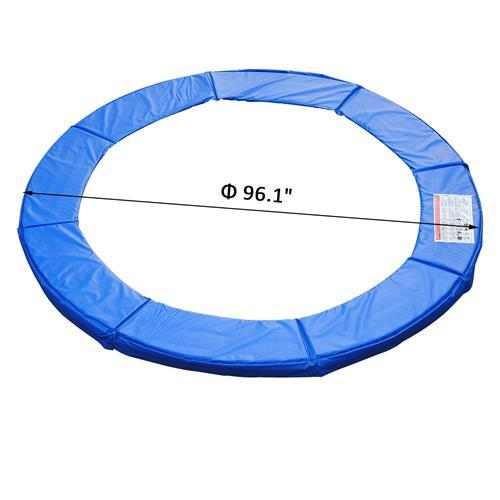 HOMCOM 8ft Trampoline Pad (Blue) : Playgrounds