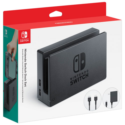 Ensemble station d'accueil Nintendo Switch