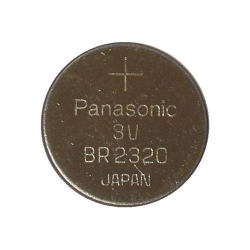 5-Pack BR2320 Panasonic 3 Volt Lithium Coin Cell Batteries