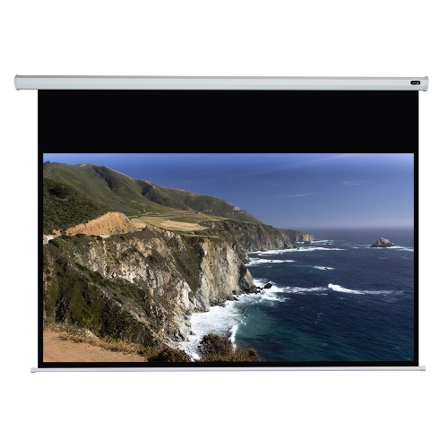 "Elunevision White Manual Projector Screen - 120"" 16:9"