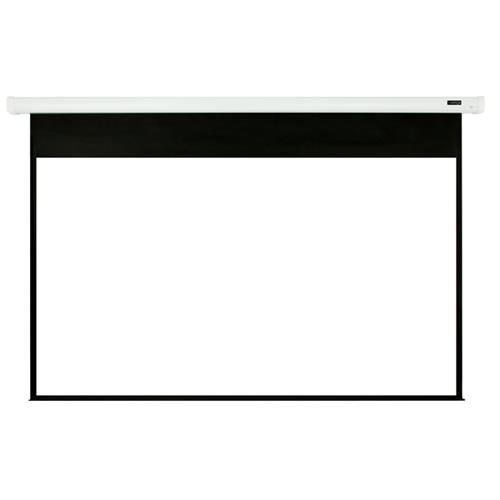 """Elunevison White Home Theater Motorized Projector Screen - 92"""" 16:9"""