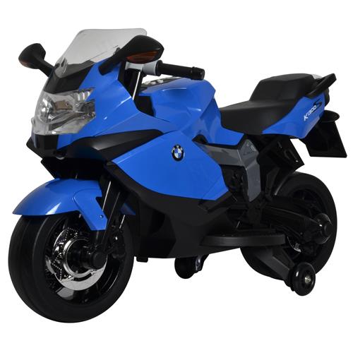 official licensed luxury blue bmw k1300s 12v ride-on bike free
