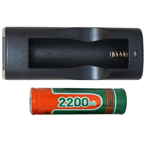 Lithium Ion Charger Single Slot 18650 Li Ion 37 Volt Battery