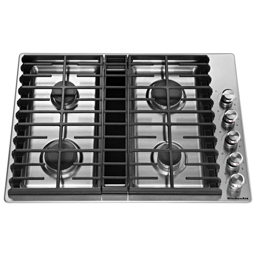 Kitchenaid 30 Quot Gas Cooktop Kcgd500gss Stainless Steel