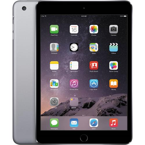 Apple iPad Mini 2 Wifi + Cell Deuxieme Generation 7.9 pousse 16gb Gris, Refurbished