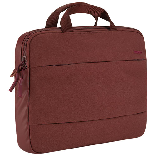 "Incase City Brief 15"" Macbook Pro Laptop Bag - Deep Red"