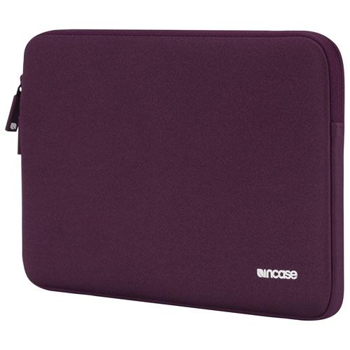Housse classique d'Incase pour MacBook Air/Pro Legacy/Pro avec écran Retina de 13 po - Aubergine