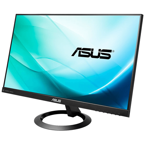 "ASUS VX24AH Black 23.8"" 5ms 2560 x 1440 (2K) IPS Frameless LCD/LED Monitor, 300 cd/m2 DCR 10,000,000:1, Dual Speakers, HDMI"