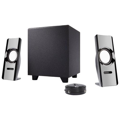 Système de haut-parleurs Curve Blast à 2.1 canaux de Cyber Acoustics