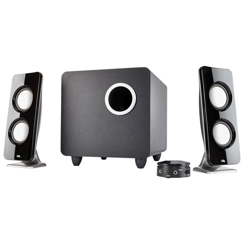 Cyber Acoustics Curve Immersion 2.1 Computer Speaker System