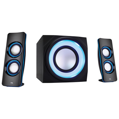 Cyber Acoustics Curve Lights 2.1 Bluetooth Computer Speaker System