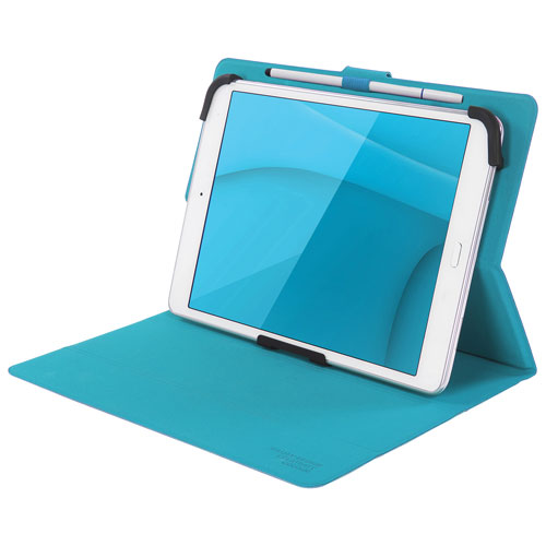 "Tucano Milano Italy Facile Plus 10"" Universal Tablet Folio Case - Sky Blue"