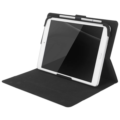 "Tucano Milano Italy Facile Plus 8"" Universal Tablet Folio Case - Black"