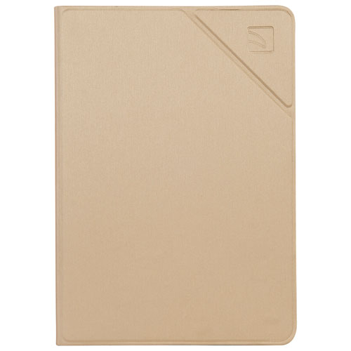 "Tucano Milano Italy Minerale Folio Case for iPad 9.7"" 2017/2018 - Gold"