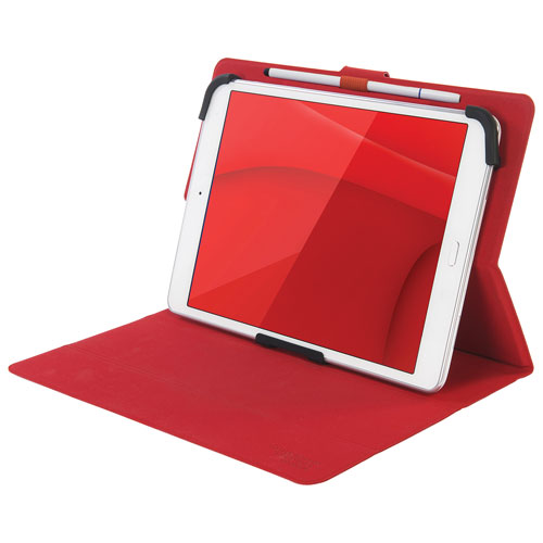"Tucano Milano Italy Facile Plus 8"" Universal Tablet Folio Case - Red"