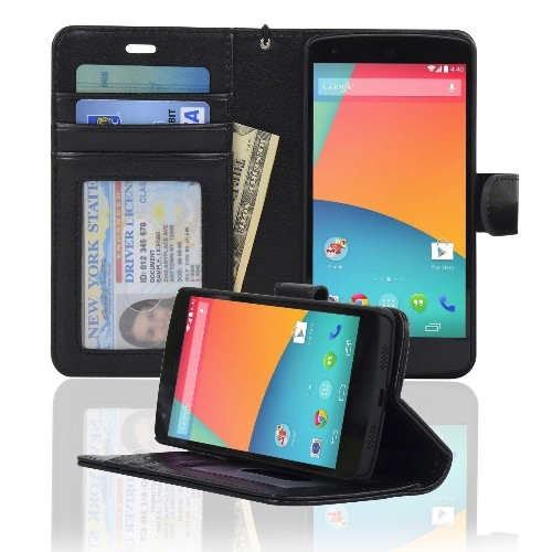 Navor Folio Case for Nexus - Black