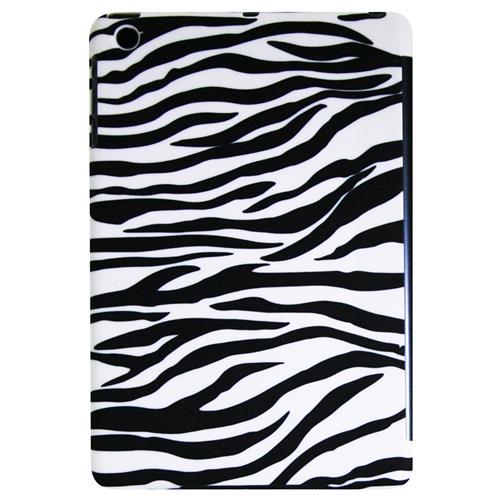 Exian iPad Mini 1st Gen Hard Plastic Back Cover Case Zebra Pattern